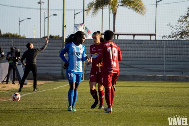 Ode aportó mucho al equipo con su entrada. | Foto: Javi Muñoz (VAVEL)