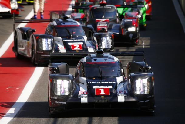 Poderá a Porsche manter o #1 e #2 nos carros? (Foto: Porsche AG)