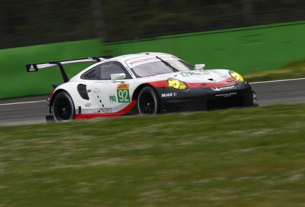 Porsche ficou com o melhor tempo dos testes. (Foto: Porsche AG)
