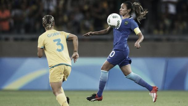 Marta was kept quiet by the Australians | Source: Joern Pollex/Getty Images