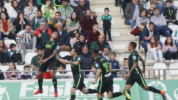 Machís celebra su gol | Foto: La Liga