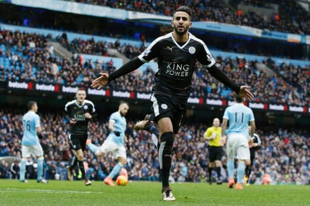 Mahrez has been key in Leicester City's unlikely title challenge | Photo: Getty