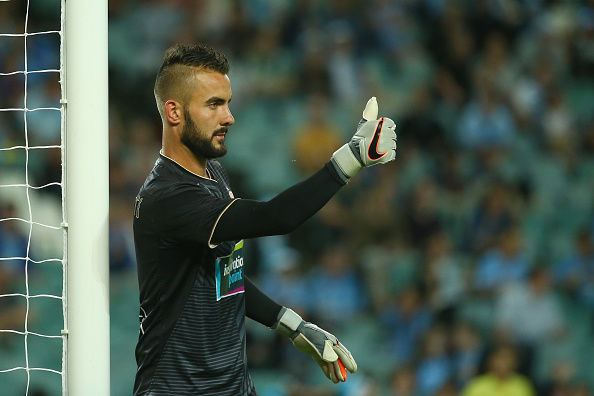 The Australian Stopper will likely be second fiddle to Fabiański depending on if Nordfeldt secures a loan move.  Image: Getty Images