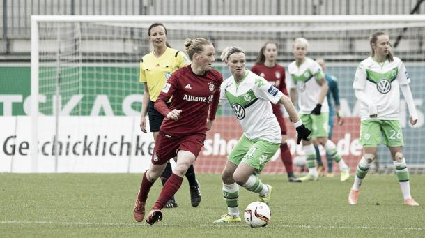 Will Wolfsburg secure second spot this weekend? | Image source: DFB.de