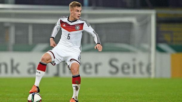Max Christiansen has enjoyed an impressive debut season in the Bundesliga with FC Ingolstadt 04. | Image source: DFB