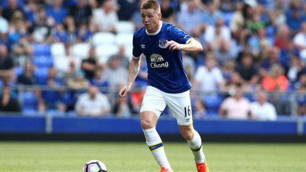 McCarthy durante un partido con el Everton | Foto: Everton