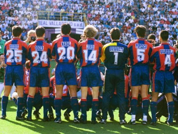 El Barcelona de la temporada 94/95 | Foto: Mundo Deportivo