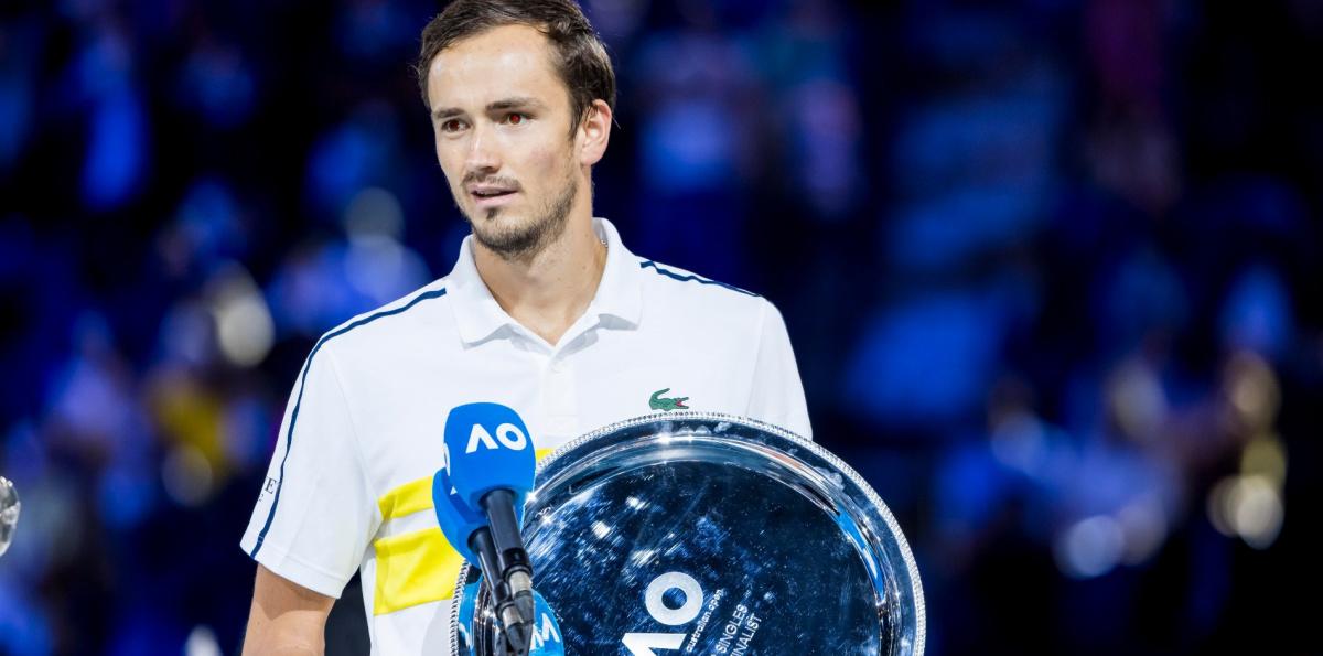 Medvedev saw his 20-match winning streak snapped in the Australian Open final/Photo: Tennis Majors