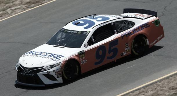 Auto de DiBenedetto en homenaje a DW (Foto: NASCAR Website)