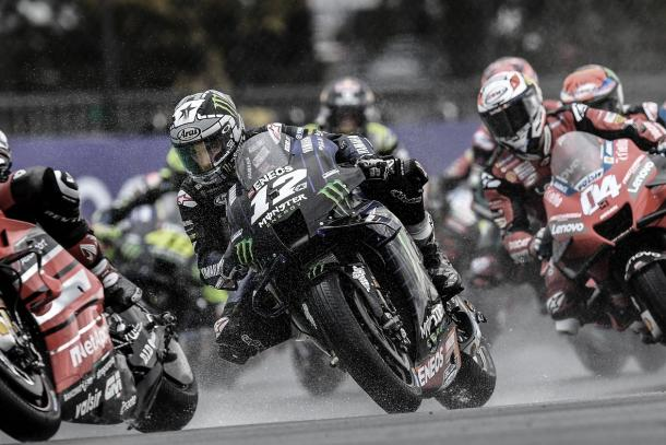 Maverick Viñales / Fuente: Yamaha MotoGP