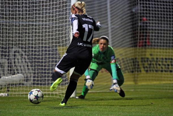 Can Mandy Ilsacker fire Frankfurt to glory? | Image source: FNP