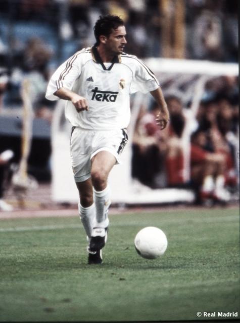 Mijatovic en el Real Madrid. Foto vía realmadrid.com