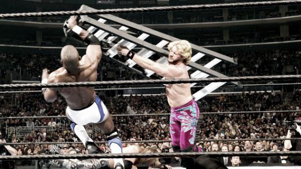 Jericho and Benjamin fighting for a Word Title shot. Photo: Bleacher Report