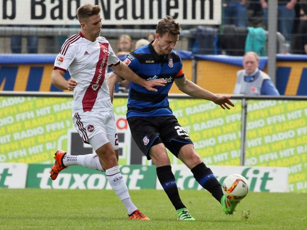 Konrad in action at now former club, FSV Frankfurt. | Image source: kicker - imago