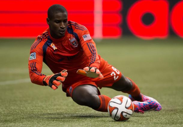 Bill Hamid's four to six month absences due to his surgery on his right knee will doom D.C. United season. Photo provided by Darryl Dyck-Associated Press.