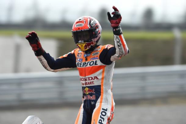 Will Marc Marquez be celebrating again this weekend? | Image: Gold & Goose