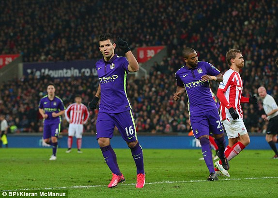 Sergio Aguero and his team-mates will want a repeat performance from last season's meeting.