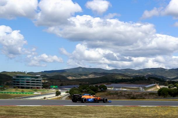 Daniel Ricciardo en los FP2. Fuente: McLaren