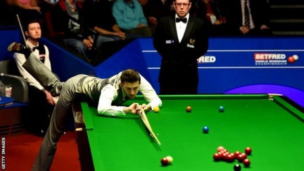 Selby was in fine form early on in Sheffield. | Image: Getty Images