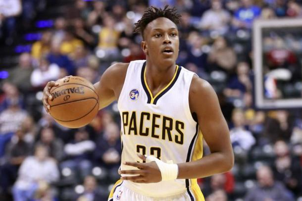 Myles Turner looks to be the Pacers' young leader. Photo: R. Brent Smith/Associated Press