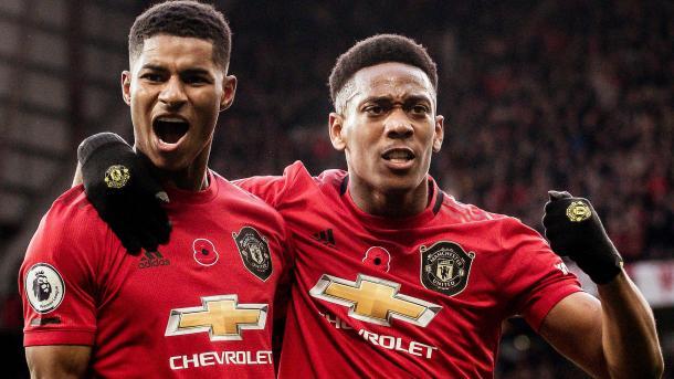 Martial y Rashford son el sinónimo del gol / FOTO: ManUtd