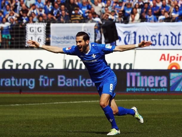 Mario Vrancic celebrates his goal. | Image source: Getty Images