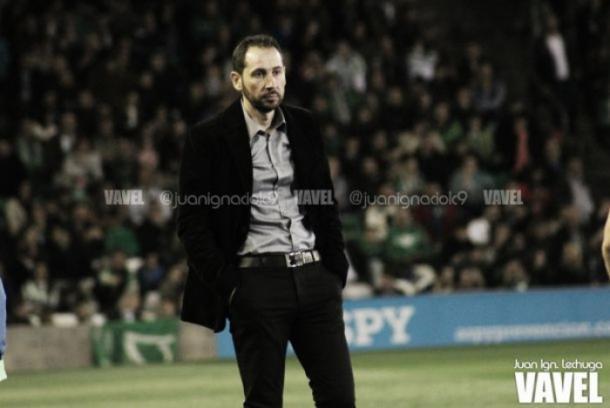 Pablo Machín, técnico del Alavés | Foto: Juan Ignacio Lechuga - VAVEL