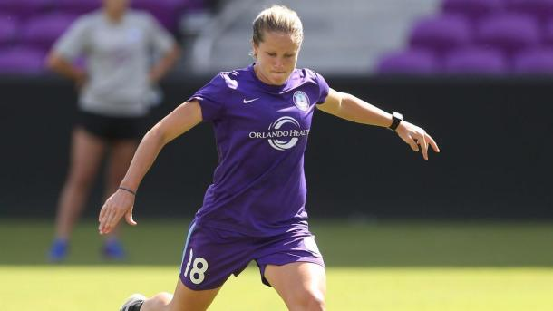 Evans played five seasons in the NWSL | Photo: Stephen M. Dowell - Orlando Sentinel