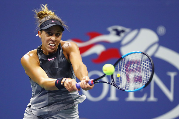 Madison Keys in action | Photo: Al Bello/Getty Images North America