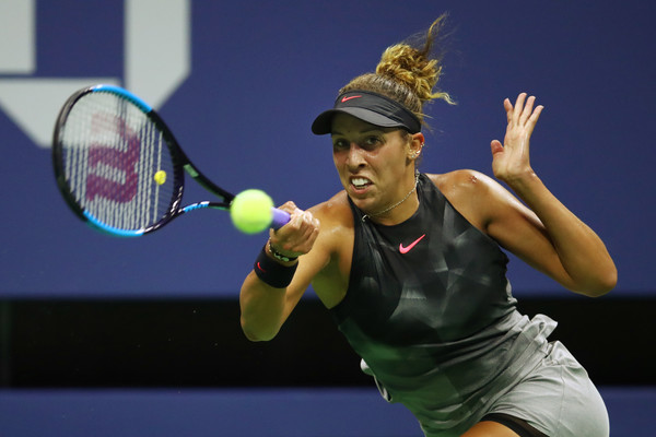 Madison Keys was absolutely firing today | Photo: Clive Brunskill/Getty Images North America
