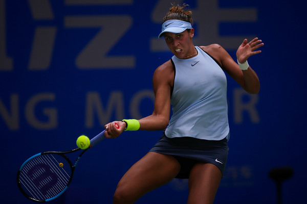 Madison Keys' last tournament of the year was the Wuhan Open, where she ended her year earlier than expected due to another wrist issue | Photo: Wang He/Getty Images AsiaPac