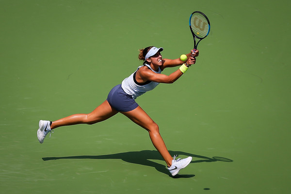 Madison Keys' wrist injury forced her to end 2017 earlier than expected | Photo: Wang He/Getty Images AsiaPac