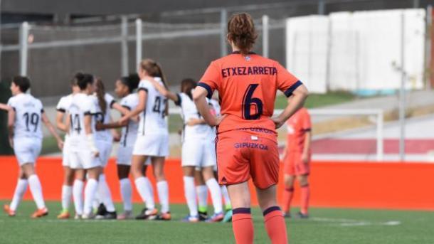 La sufrida ante el Madrid CFF fue una derrota inesperada y significativa. Fotografía: Web Oficial Liga Iberdrola.
