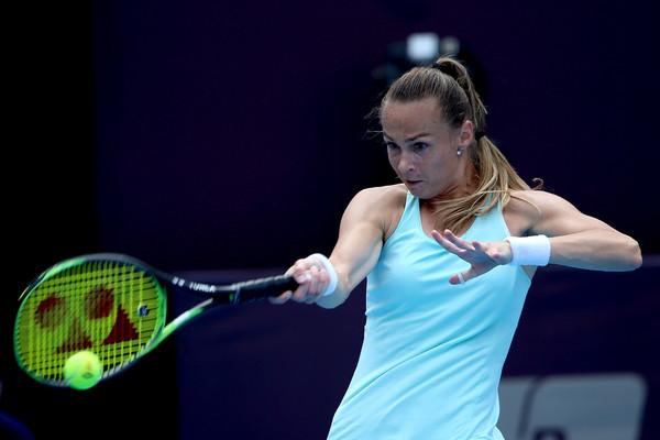 Magdalena Rybarikova in action at the China Open | Photo: Emmanuel Wong/Getty Images AsiaPac