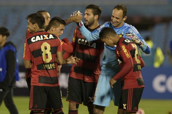 Magrão alcança marca histórica com a camisa do Sport (Foto: Miguel Rojo/AFP/Getty Images)