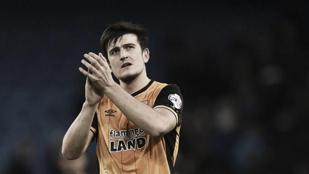 Hull rejected a £5 million bid for Harry Maguire (Picture from Sky Sports)