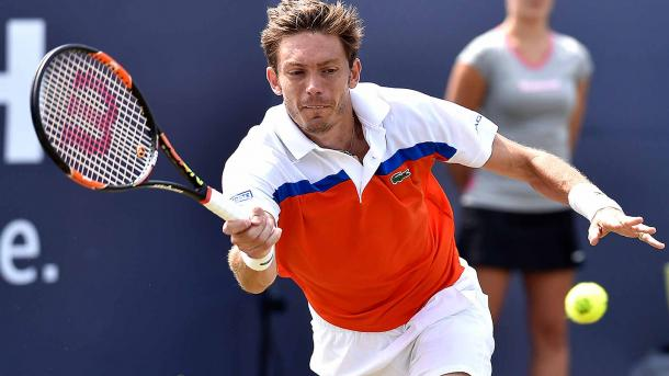 Mahut hits a forehand during his Ricoh Open title run. Photo: ATP World Tour