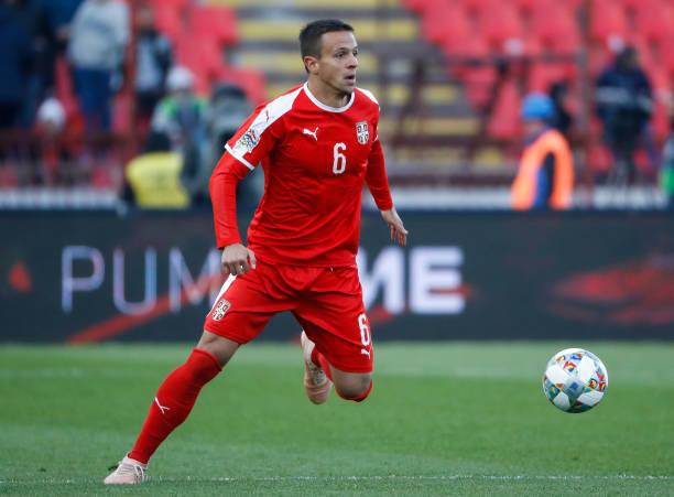 Maksimovic con la selección serbia // Fuente: Getty Images