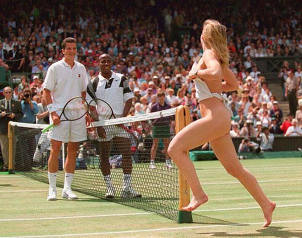 Krajicek y Washington en la final de Wimbledon 1996. Foto: www.wimbledon.com
