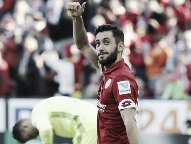 Yunus Malli es uno de los jugadores más peligrosos del Mainz 05 | Fuente: Mainz 05