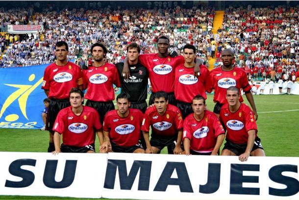Once inicial de la final. Foto: RCD Mallorca