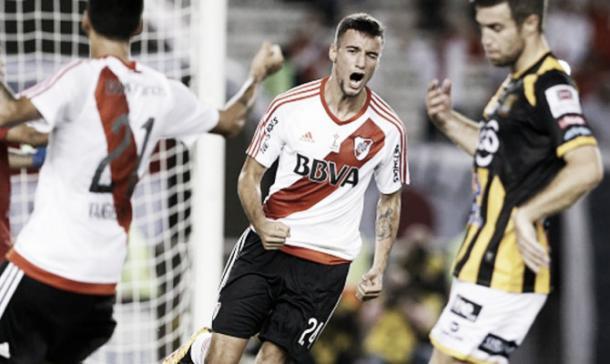 Mammana marcó su segundo gol ante The Strongest. (Foto: web)