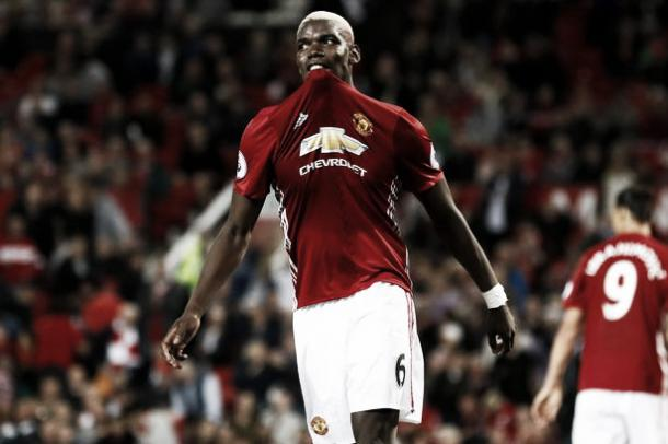 Paul Pogba impressed the Old Trafford crowd in his second United debut against Southampton (Getty)