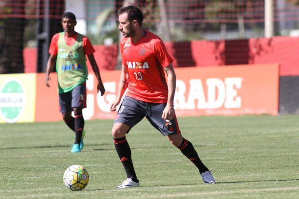 Mancuello (Foto: Divulgação/Flamengo)