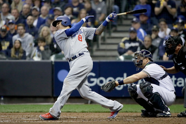 Machado has led the Dodgers offense through the playoffs/Photo: Jonathan Daniel/Getty Images