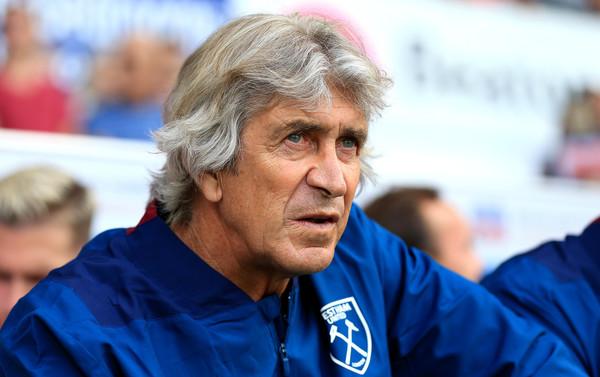 Pellegrini en un amistoso ante el Ipswich Town. Foto: Getty Images