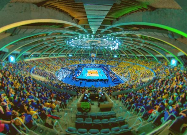 El Maracanazinho está considerado el 'templo' del vóley brasileño.   Foto: Olympics