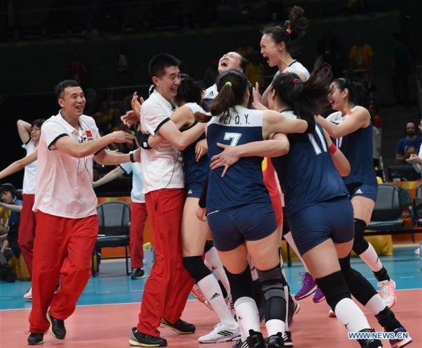China eliminó a Brasil en el Maracanazinho. | Foto: News.cn