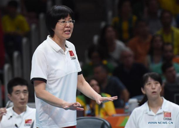Jenny Lang Ping ganó el duelo de banquillos a Zé Roberto Guimaraes. | Foto: News.cn