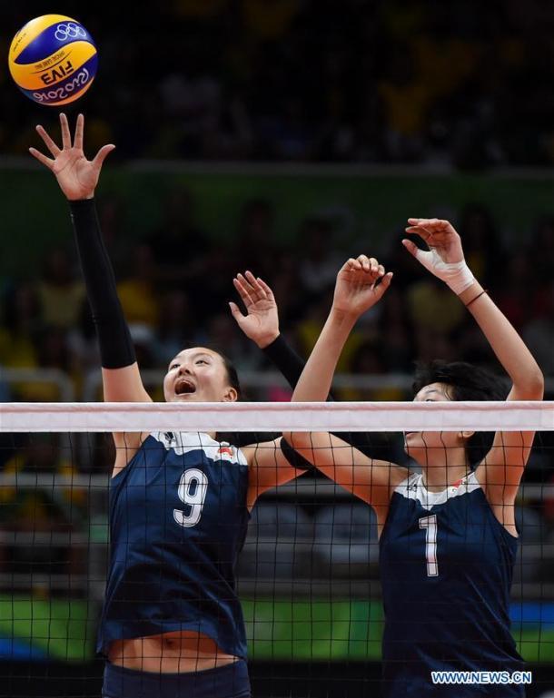 China fue capaz de vencer a la vigente doble campeona Olímpica, Brasil. | Foto: News.cn